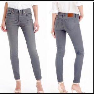 Jcrew toothpick jeans stay